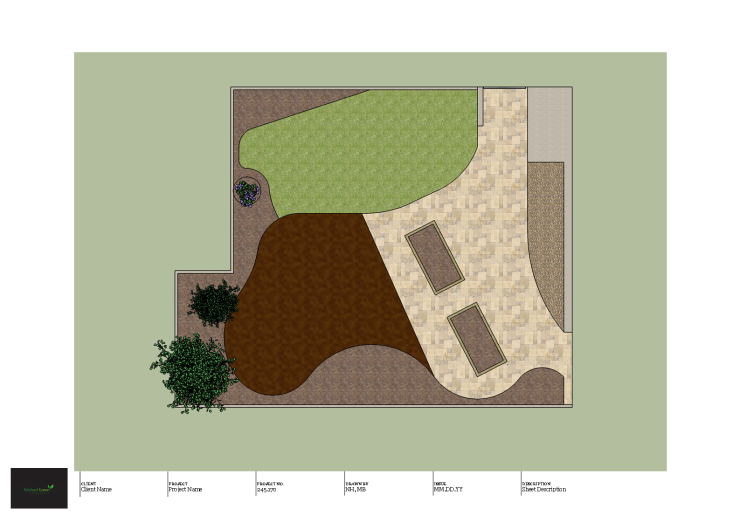 Sally Hewitt Garden Design Layout edges top view_1