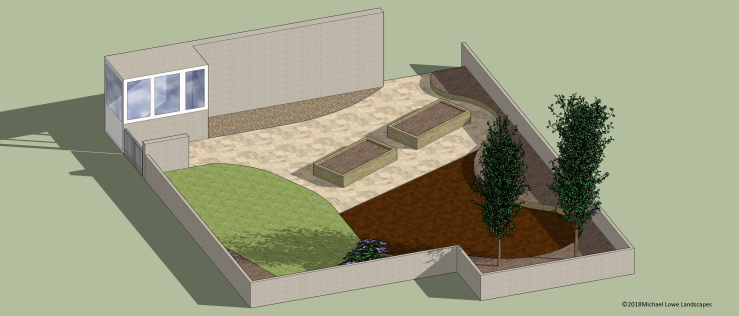 Sally Hewitt Garden Design Layout edges
